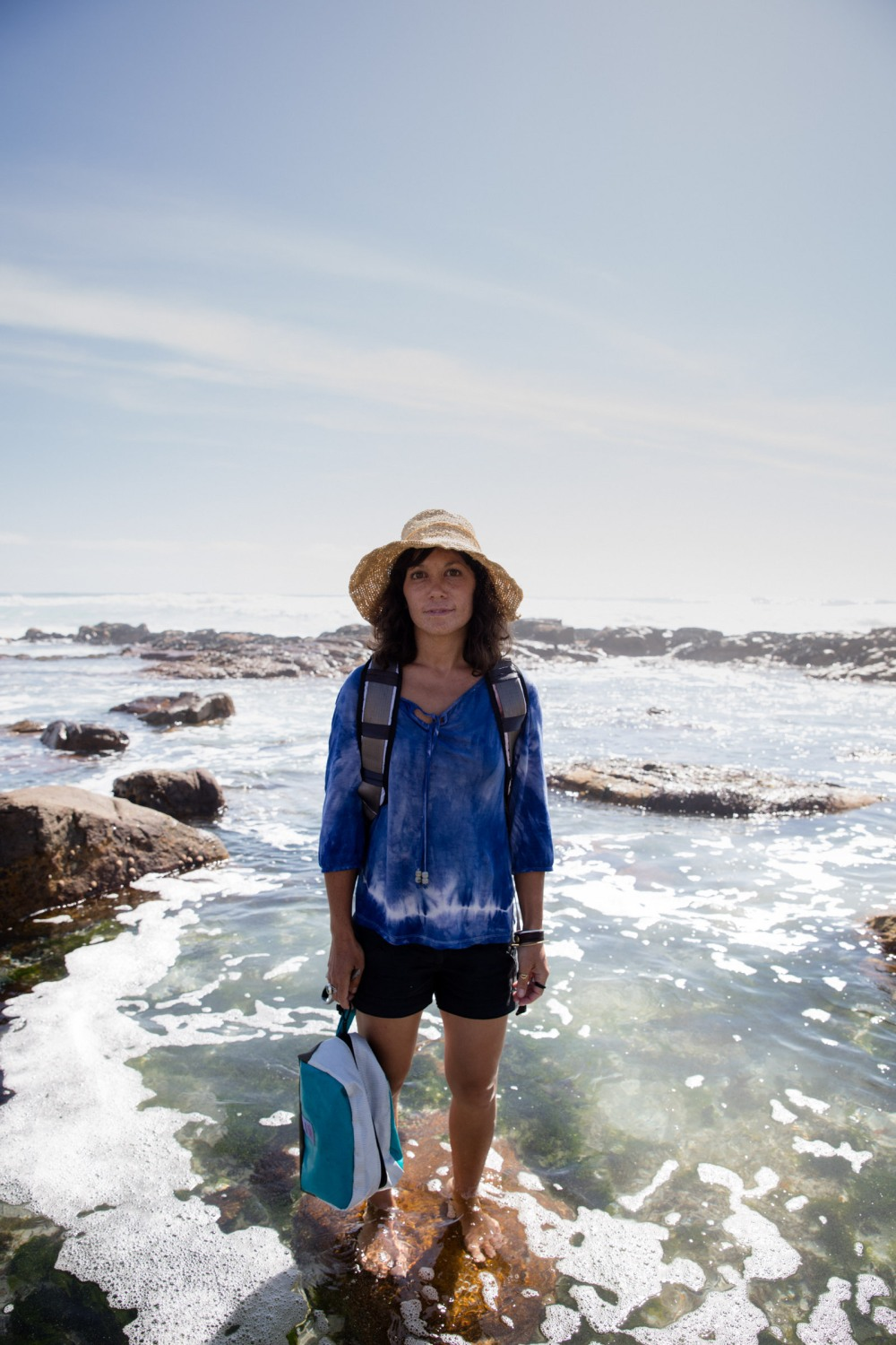 Roushanna Gray - Coastal Foraging